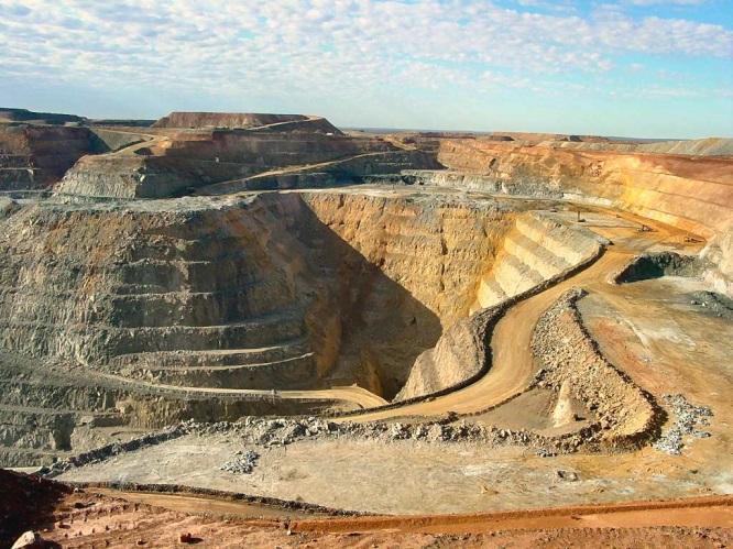Kalgoorlie Super Pit gold mine Australia