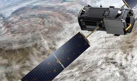 NASA Orbiting Carbon Observatory-2 OCO-2 satellite