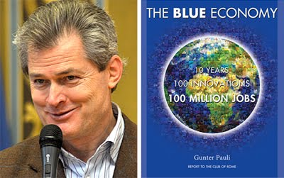 Prof Gunter Pauli, Blue Economy  entrepreneur from Belgium