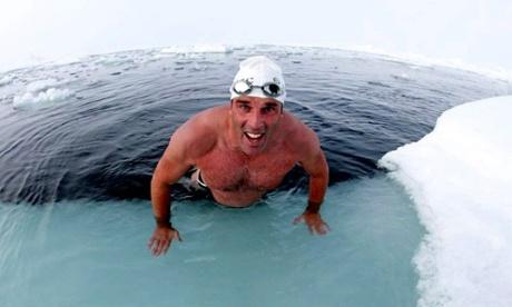 Lewis Pugh ocean arctic swimmer