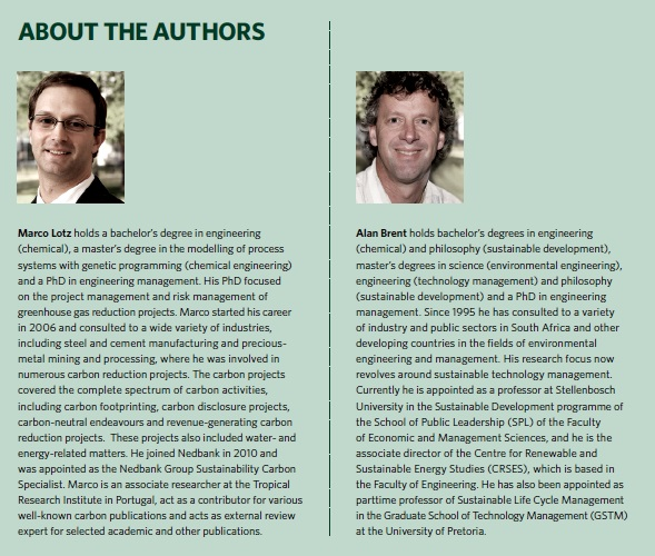 about the authors nedbank