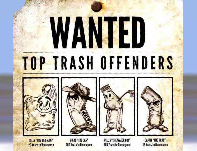 beach cleanup top trash offenders
