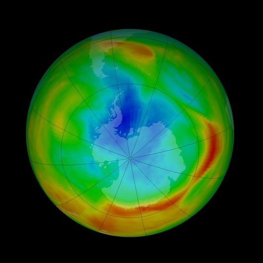 nasa ozone hole - photo #19