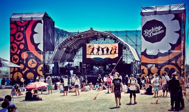 Rocking The Daisies 2014 -2