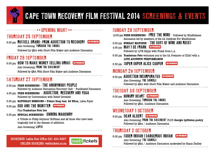 cape town recovery film festival 2014