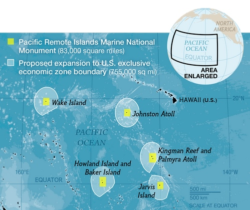 proposed marine reserve expansion