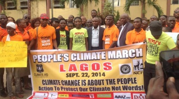 Nigeria joins the world climate march