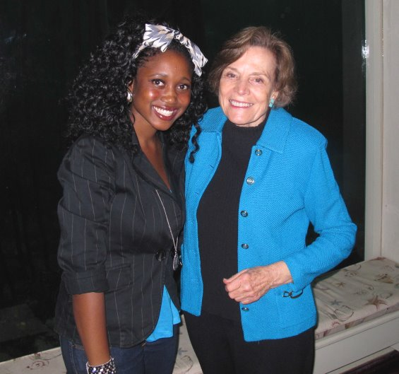 Sylvia Earle And Filmmaker Enathi Mqoleli, SST