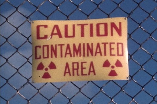 caution contaminated area