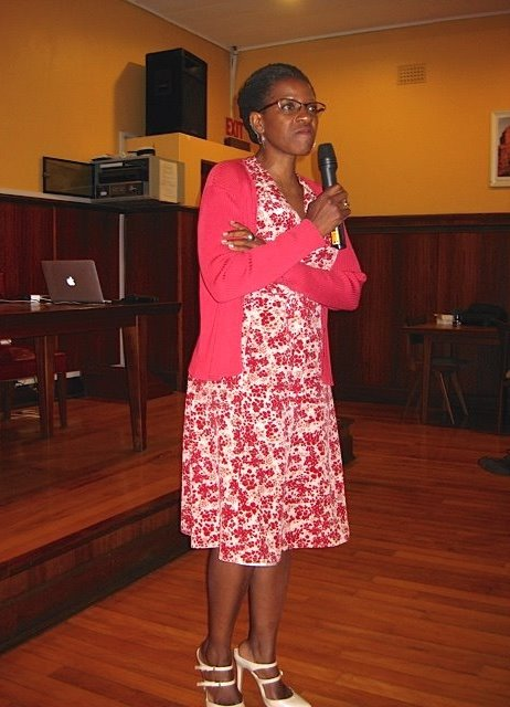 Keynote speaker Rev. Mpho Tutu