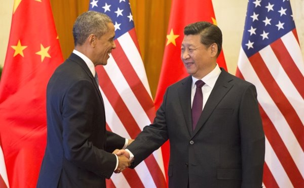 US and China Shake Hands on Carbon Deal