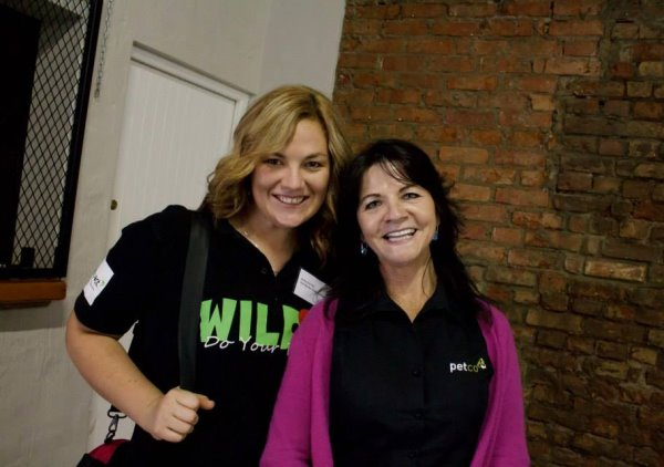 Vicky Du Toit of The Waste Trade Company & Belinda Booker of PETCO chat about school and collection programs.