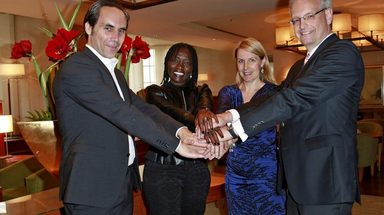 Auma Obama and WFC board members