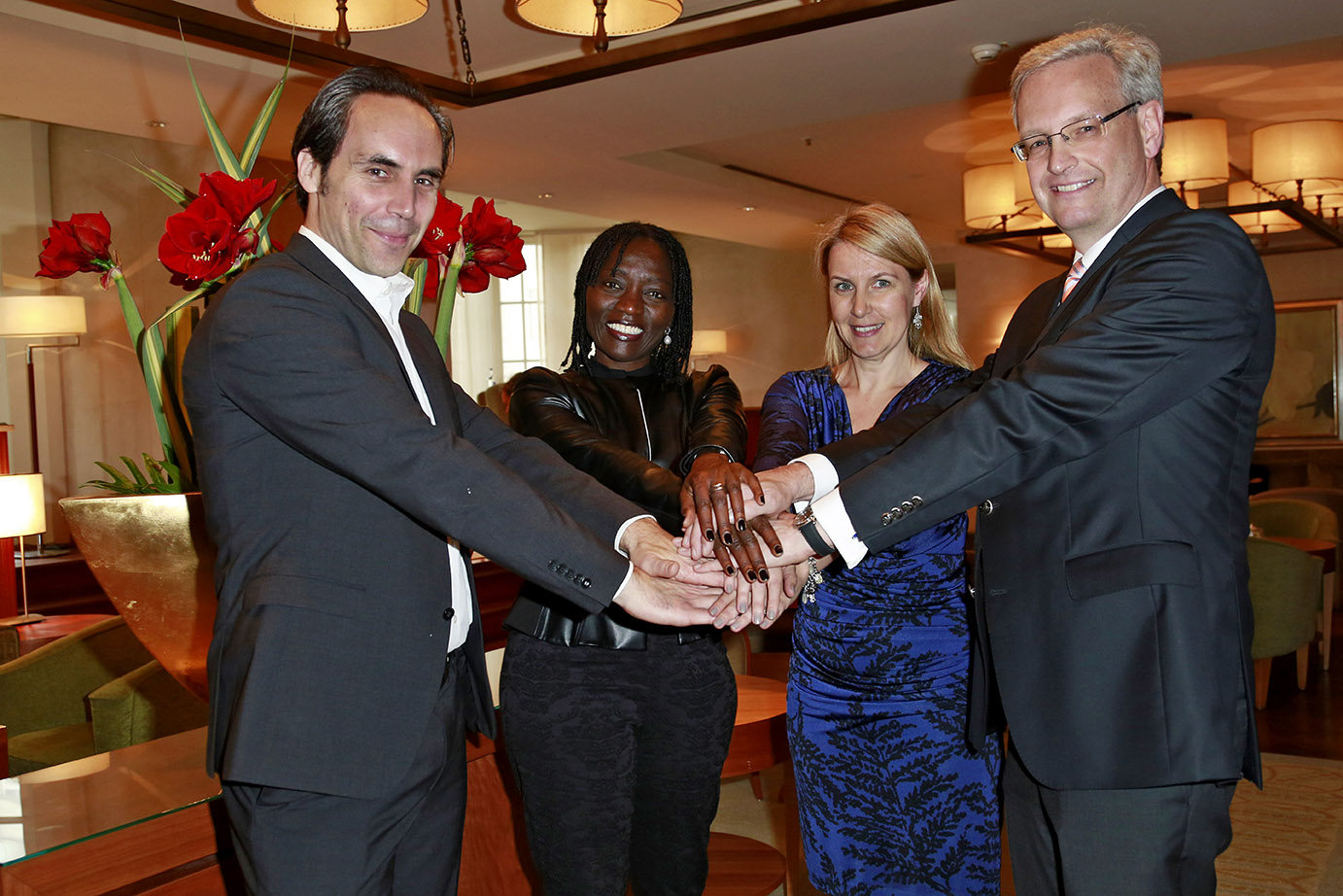 Auma Obama and WFC board members