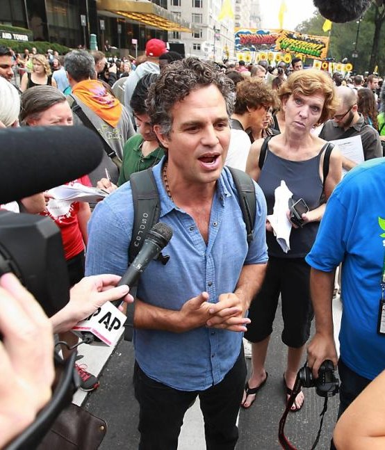 mark ruffalo people climate march central park