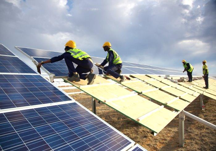 Droogfontein solar power