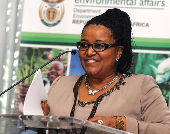 Minister Molewa
