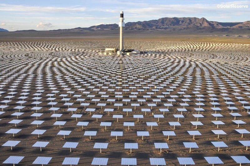 SolarReserve Crescent Dunes Project
