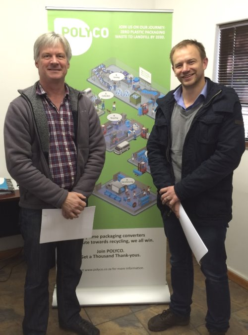 Walter Jordaan and Johan Conradie of Myplas