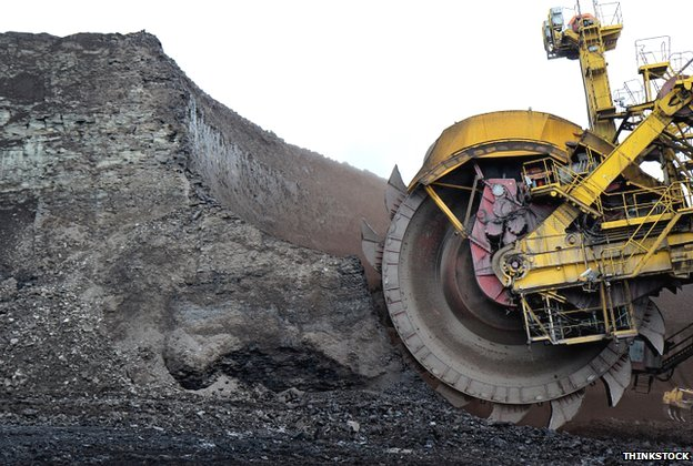 fossil fuels dirty bulldozer climate change