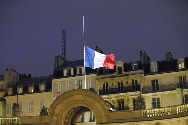 french flag day of mourning