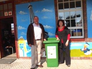 Deon Roux and Bernadette van Graan of Germiston Laerskool