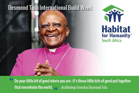 Desmond Tutu International Build Week