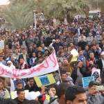 Shale gas protests in Southern Algeria going national