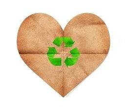 PETCO PET recycling heart