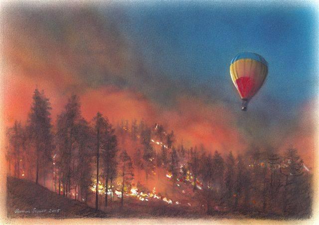 Vernon Swart Artist Vuurballon