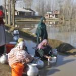 drinking water pipe shortage srinagar