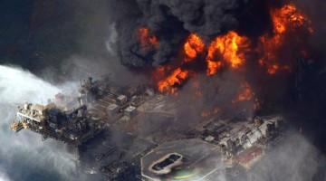 Deepwater Horizon rig explosion oil spill