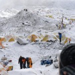 Helicopter Everest Nepal Earthquake