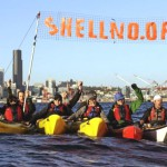Seattle 'kayak-tivists' take on Arctic oil drilling