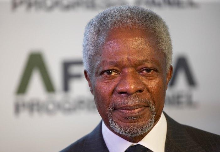 Kofi Atta Annan Ghanaian diplomat G7