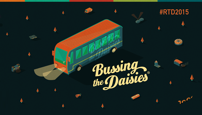 Rocking The Daisies 2015 Bussing