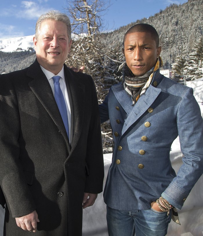 Al Gore Pharrell Williams music optimism Live Earth 2015