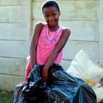 Swapping plastic bottles for essential items helps community