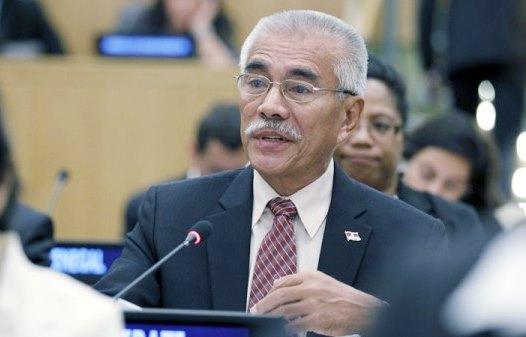 Kiribati president Anote Tong UN-2