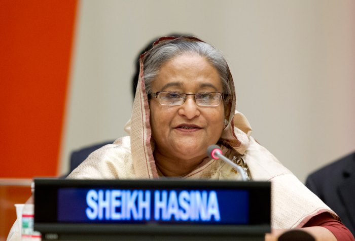 Bangladeshi Prime Minister wins UN environment prize for leadership on climate change