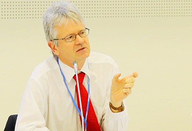 Harald Winkler delegate UN talks Cape Town climate2