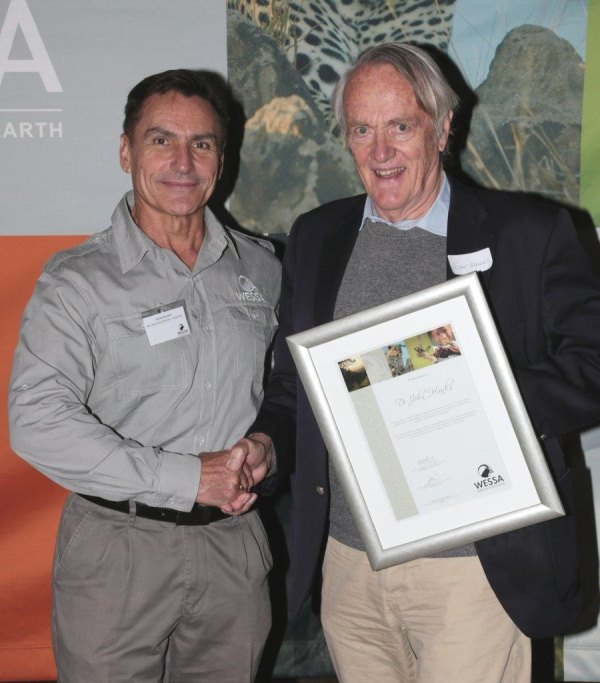 WESSA_Chairman_Dr_Richard_Lewis_with_Dr_John_Hanks