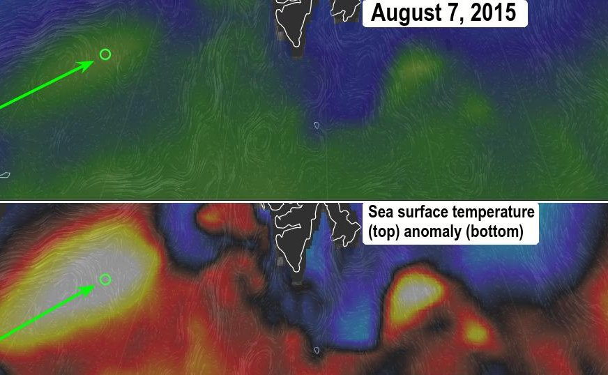 methane monster ocean temperature