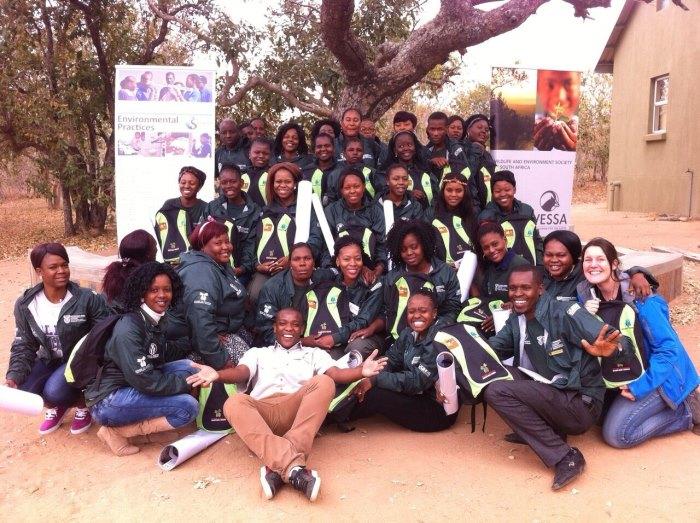 Wessa Rhino Ambassadors Group pic