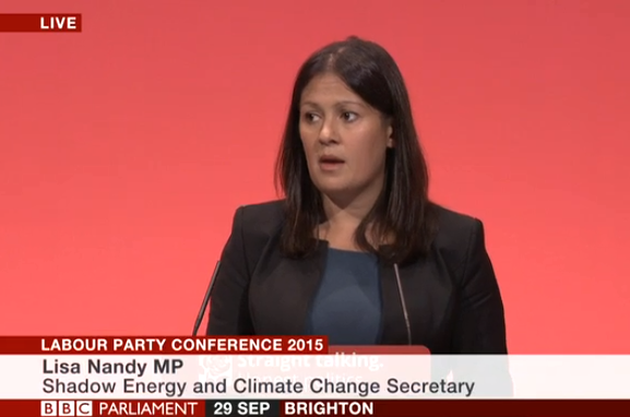 nandy tory energy policy climate change uk