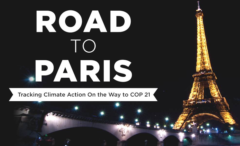 road to paris summit climate change cop21 countries
