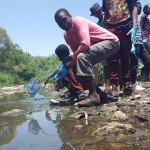 Jukskei River clean-up connects children with nature