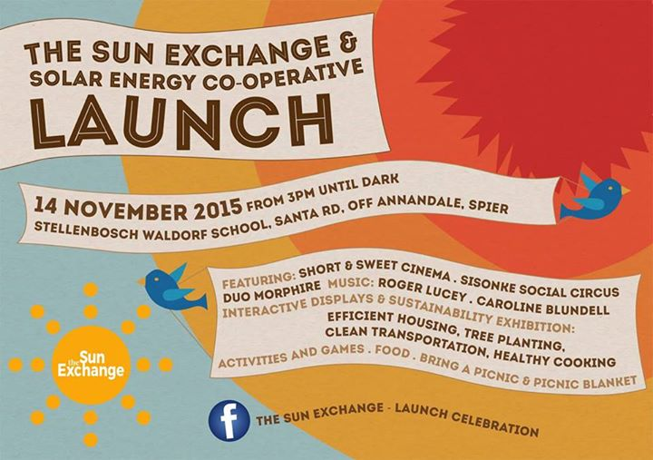The Sun Exchange Launch Celebration