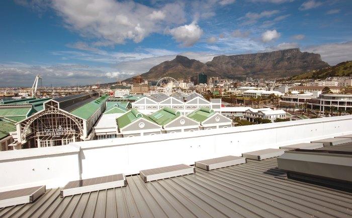 V&A rooftop solar installation