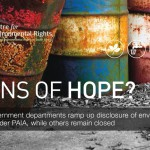 What is the state of environmental governance transparency?